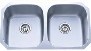 Stainless steel undermount bath sink