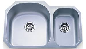 18 gauge stainless steel undermount sink 60/40
