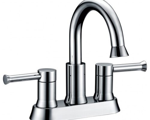 center set two handle bathroom faucets