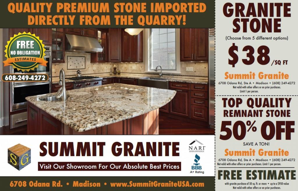 Granite Countertops on Sale $38/sqft.