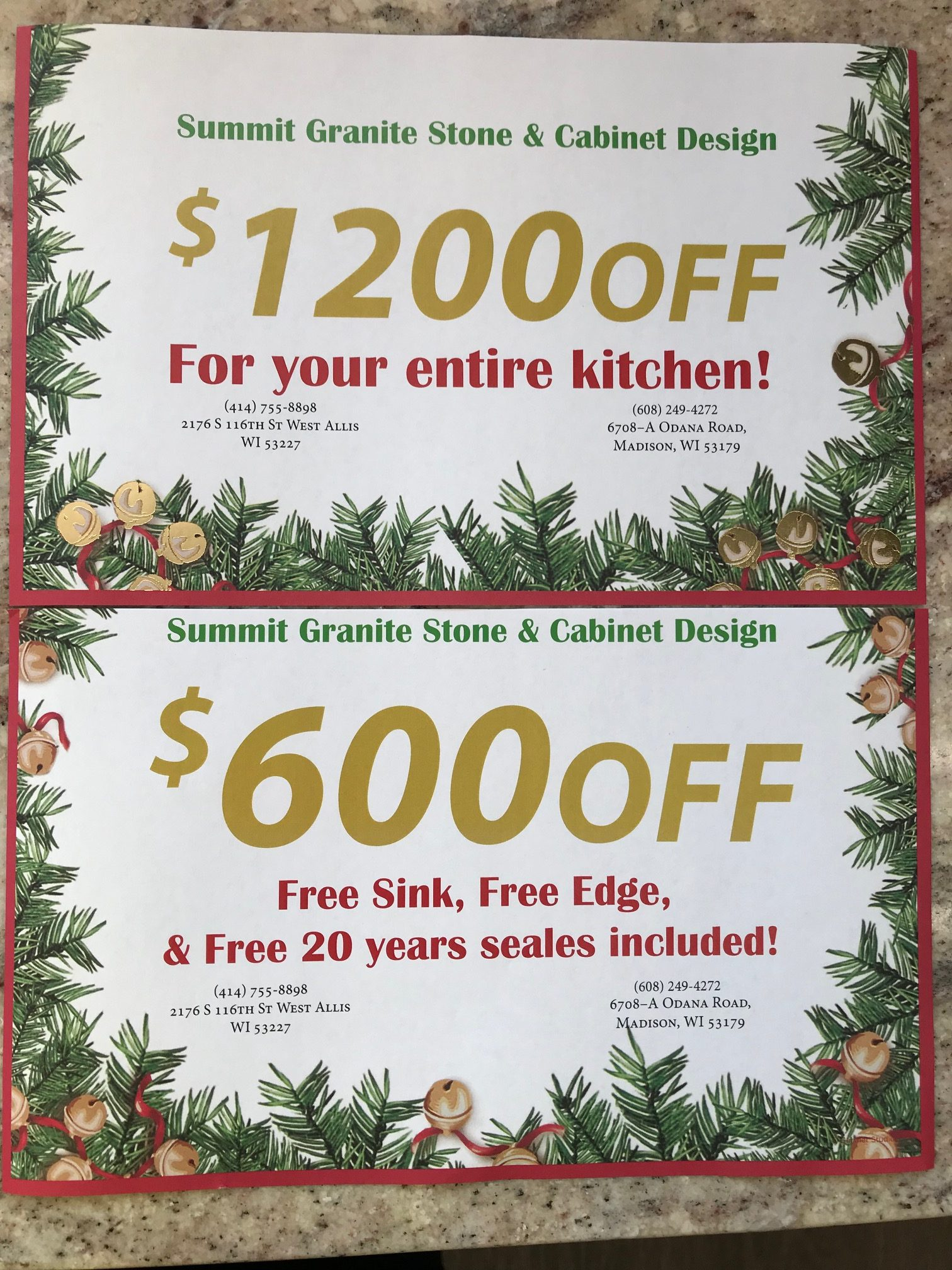 Save money this holiday season on creating your dream kitchen